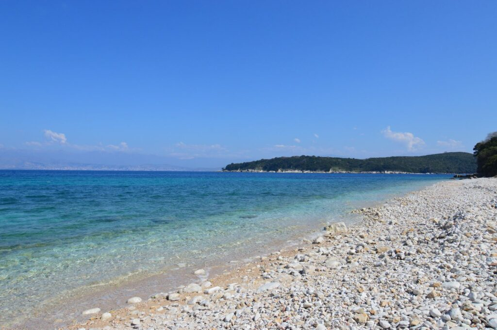 BEACH FRONT PLOT OF LAND FOR SALE IN KASSIOPI