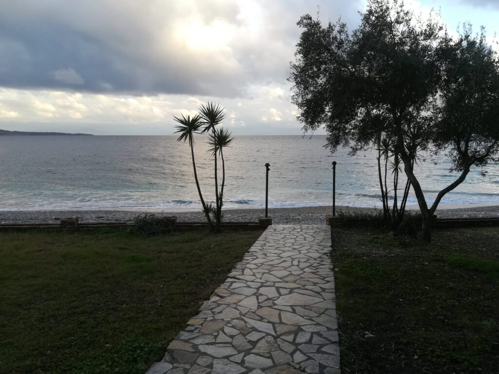 PROPERTY FOR SALE ON THE BEACH IN NISSAKI