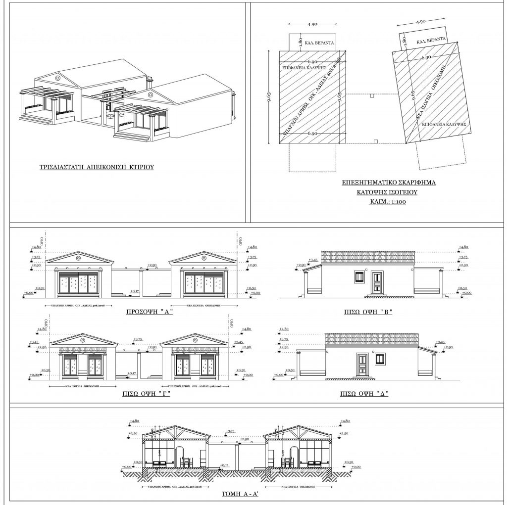 DETACHED HOUSE FOR SALE IN ACHARAVI