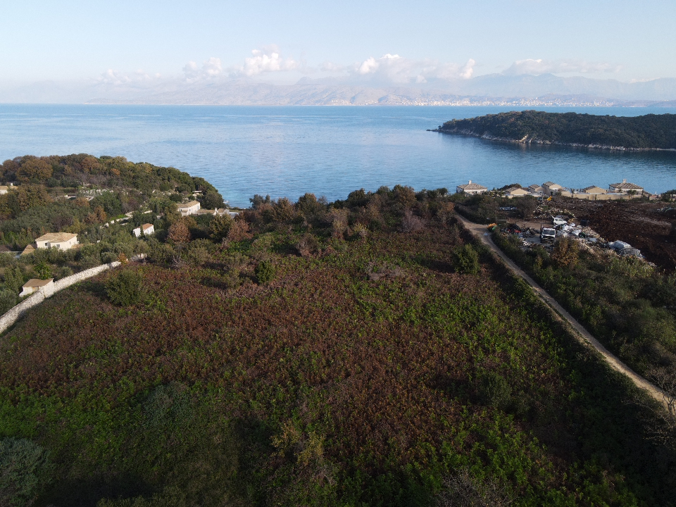 BEACH FRONT PLOT FOR SALE IN KASSIOPI